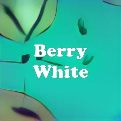 Berry White strain