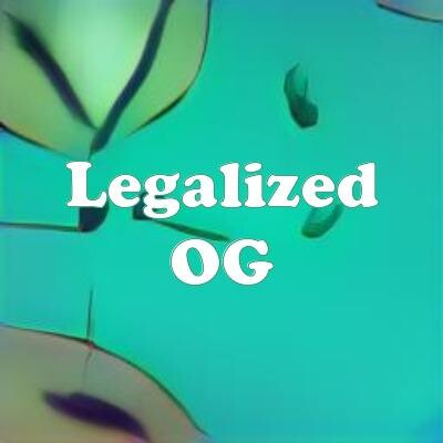 Legalized OG strain